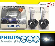 Philips HID Xenon Crystal Vision White 5000K D2S Two Bulbs Head Light Upgrade OE