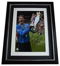 6243b8016d1 Edwin van der Sar Signed Framed Autograph 16x12 photo display Manchester  Utd COA