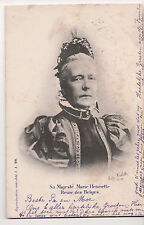 Vintage Postcard Archduchess Marie Henriette of Austria Queen of Belgium