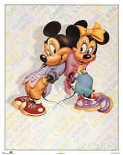 Mickey and Minnie Mouse Cool Mini Poster Print, 16x20