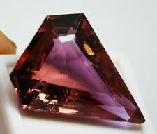 67 Ct Natural Fancy Cut Color Changing Alexandrite Loose Gemstone !
