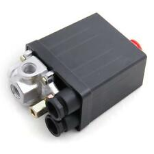 Compresseur dair Pressostat vanne de régulation de pression 145PSI 220V