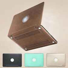 """PU Leather Coated Sleeve Hard Cover Case for Macbook Pro 13/15 Retina Air 11/13"""""""