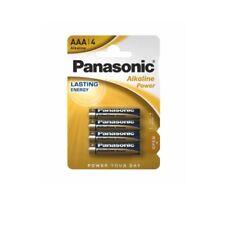 4 x Panasonic Alkaline Power Batterie AAA LR3 Micro Bronze 1,5V LR03 NEU MN2400
