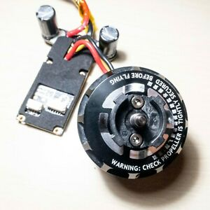 DJI Inspire 1 - Ersatzteile - V1 Motor 3510 CW + ESC M2/M4 schwarze Kappe 350KV