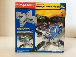 New*Sealed*Rokenbok System*4-Way Cross Track*06717*Stem*Building