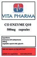 Max Stärke Co Q 10 500mg 365 Kappen Energie Antioxidant Herz Gehirn