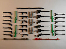 Guns for Lego Minifigures. Lot of 38. New! Sniper Rifle Weapons Accessories Toys