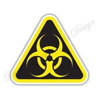 Biohazard Danger Warning sign Car Bumper Vinyl Sticker Window Car Bumper #038