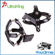 Pair of X Clamp Mounting Bracket 2-3 Inch Bullbar Nudge Bar LED Light Bar 4WD