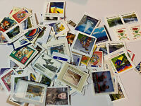 New Zealand - $200 face value FV unfranked Postage stamps  On Paper See Pics