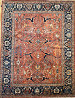 Hand-knotted Rug (Carpet) 9'1X11'8, Choeb Rang mint condition