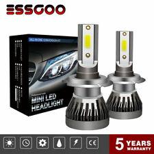 Coppia H7 COB 6000K 72W 9000LM Lampade A LED Da Auto Fari Lampadine Xeno Bianca