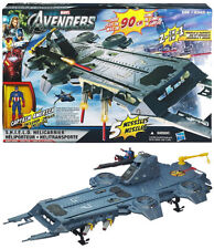The Avengers Movie Vehicle Exclusive SHIELD Helicarrier Playset Captain America