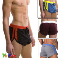 Men's Sports Shorts Running Gym Athletic Apparel Underwear Briefs Boxers Shorts