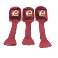 Washington Redskins Golf Headcover Set Represent Your Favorite NFL Football Team