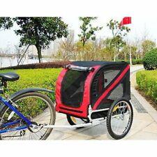 Lightweight Sturdy Durable New Aosom Elite Pet Dog Cat Bike Bicycle Trailer!