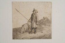 Deutscher Meister um 1810 -  ausrufender Nachtwächter