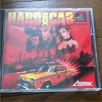 Hard Rock Cab PlayStation PS1 Asmik Used Japan Shooter Boxed Tested Working