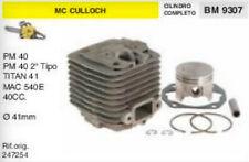 247254 CILINDRO E PISTONE MOTOSEGA McCULLOCH PM40 TITAN 41 MAC 540 40cc Ø 41 mm
