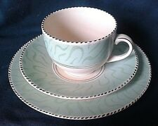 BURGESS & LEIGH BURLEIGH WARE BALMORAL TEA TRIO ART DECO CUP SAUCER & SIDE PLATE