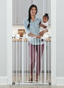 Regalo Easy Step Extra Tall Walk Through Safety Gate: Babies (6-36 mos) & Pets