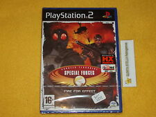 CT SPECIAL FORCES  PS2 SONY PLAYSTATION 2 PAL VERSIONE ITALIANA NUOVO SIGILLATO