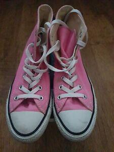 Ladies Pink Size 6 Converse Baseball Boot