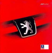 Prospectus PEUGEOT 307 WRC 2003 autoprospekt auto voitures 8 03 Brochure France