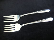 "Set Of 2 WM Rogers Mfg. Co Original Rogers Silverplate Forks, 6"" Long"