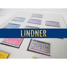 LOT DE COLLECTION TIMBRES ANDORRE 1983-1989 FEUILLES LINDNER