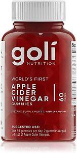Apple Cider Vinegar Gummy Vitamins by Goli Nutrition - 1 Pack - 60 ct