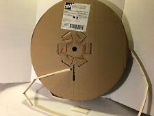 "200ft Spool 1/2"" 3M VFP-876 White (Blanco) Heat Shrink Tube Very Flexible USA"