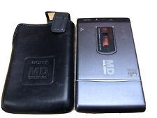 Sony Portable MiniDisc Player Walkman W/ Michael Jackson Blood On The Dance