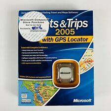 Microsoft Streets and Trips 2005 GPS (B17-00175)