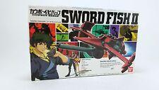 Cowboy Bebop Plastic Model Kit Sword Fish II 2000 Bandai 1/72 Mono Racer