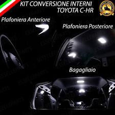 KIT FULL LED INTERNI TOYOTA CHR C-HR CONVERSIONE COMPLETA 6000K CANBUS NO ERROR