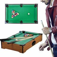 Portable Compact Mini Tabletop Pool Table Snooker