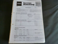 Original Service Manual Grundig hit Boy 310