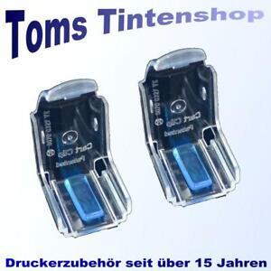 2 Stück CartClip Blue Pad Aufbewahrungsclip für HP 301, 302 u.v.a. Patronen