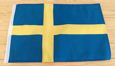"SWEDEN FLAG - 45cm x 30cm - 18"" x 12""  - Swedish flag"