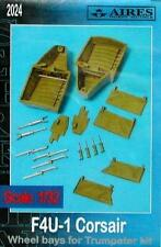 Aires 1:32 F4U-1A Corsair Wheel Bay for Trumpeter Kit - Resin Update #2024