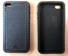 2X iPhone 4 4S Thick Rubber Case in Black  - 2 case