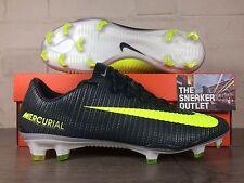 New Men's Nike Mercurial Vapor XI CR7 FG UK Size 9 Football Boots Ronald
