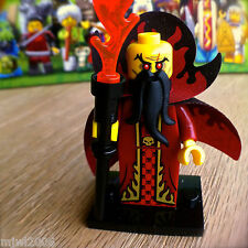 LEGO 71008 Minifigures EVIL WIZARD #10 Series 13 SEALED NEW Minifigs Cape Torch