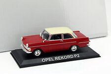 Opel Rekord P2 rot 1:43 Altaya