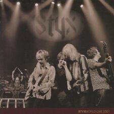 STYX - STYXWORLD LIVE 2001 (NEW & SEALED) Rock CD