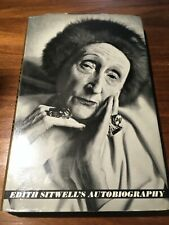 1965 Autobigraphy HB 1st Ed - Edith Sitwell rare owner J A Steff-Langston