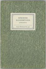 * Hirmer, Römische Kaisermünzen, Monnaies romaines impériales, Lipsie 1942