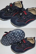 Schuhe Halbschuhe Freizeit Kleinkinderschuhe blau Klettverschluss Gr 24 27 28 30